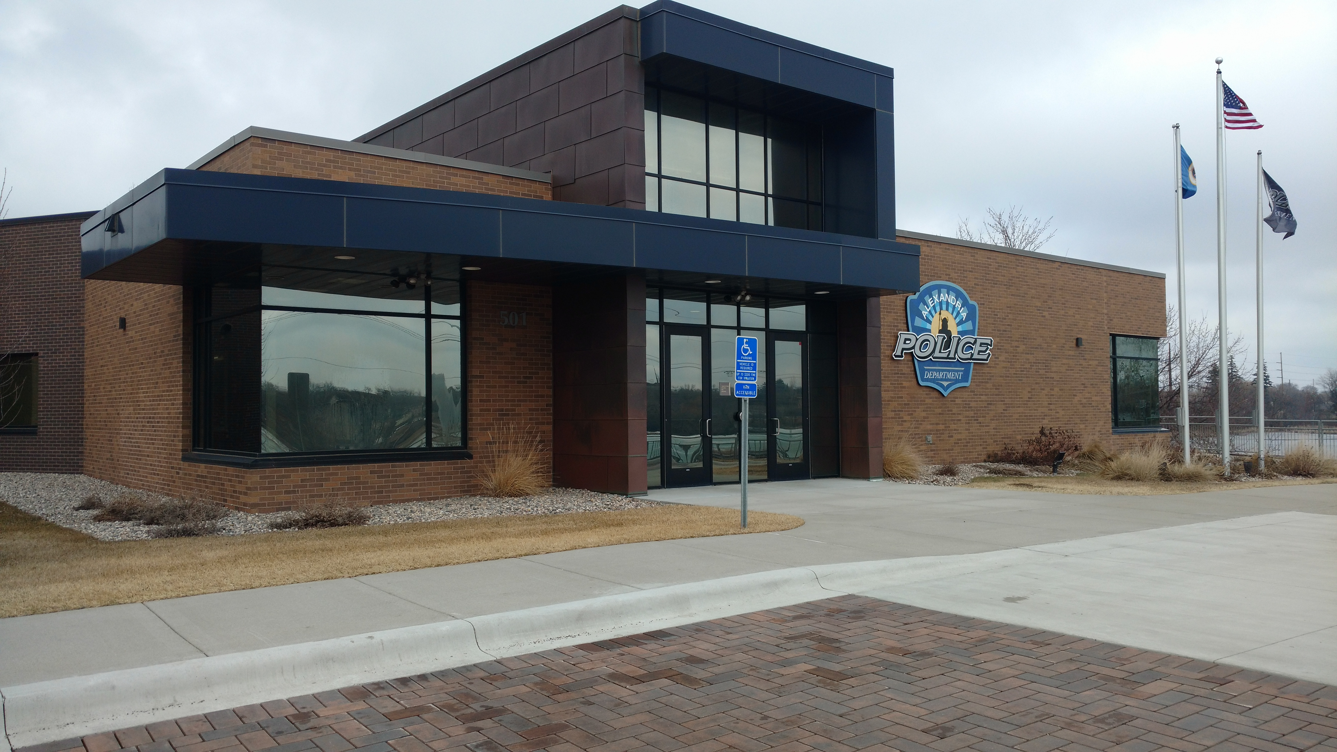 Alexandria Police Department - commercial electric project alexandria mn