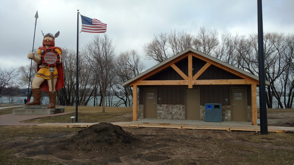 Big Ole Park - commercial electric project alexandria mn