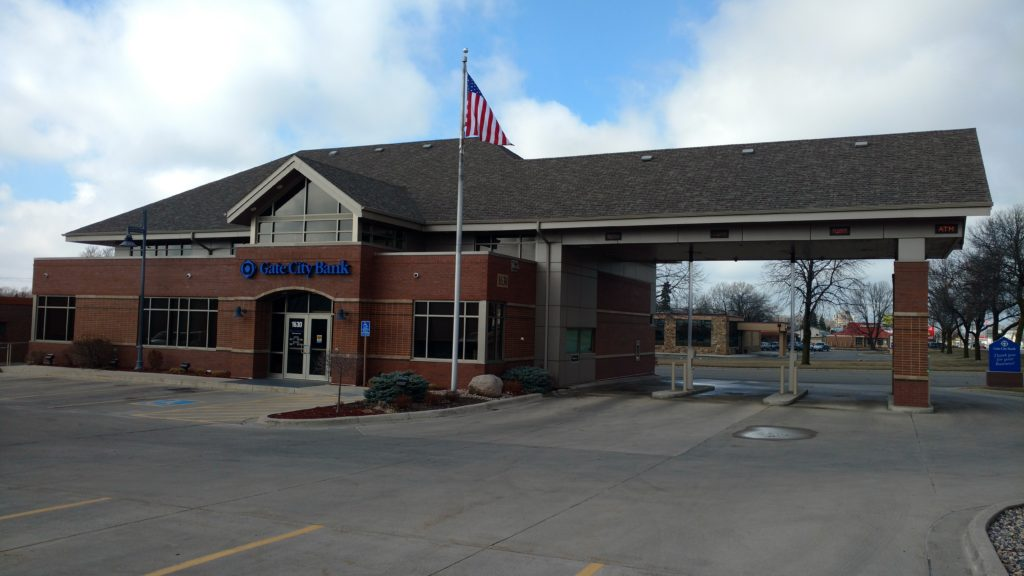 Gate City Bank - commercial electric project alexandria mn