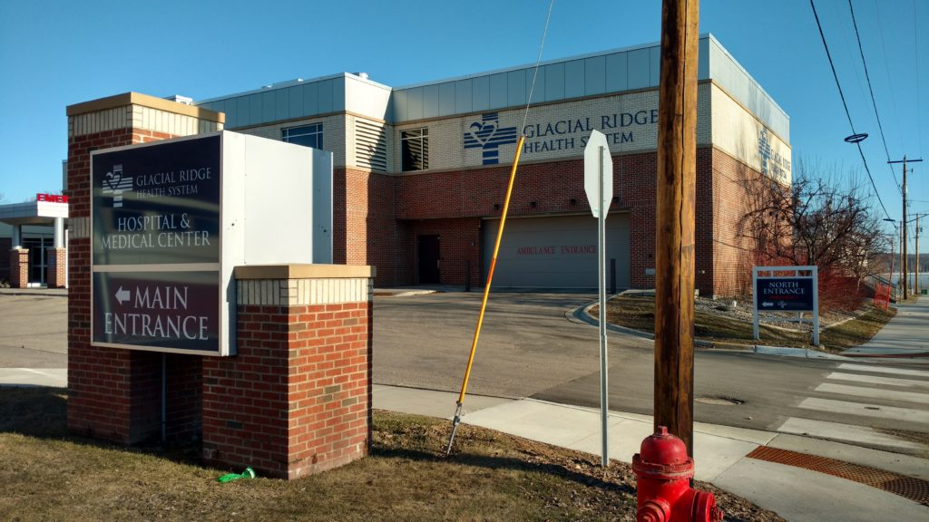 Glacial Ridge Health - commercial electric project