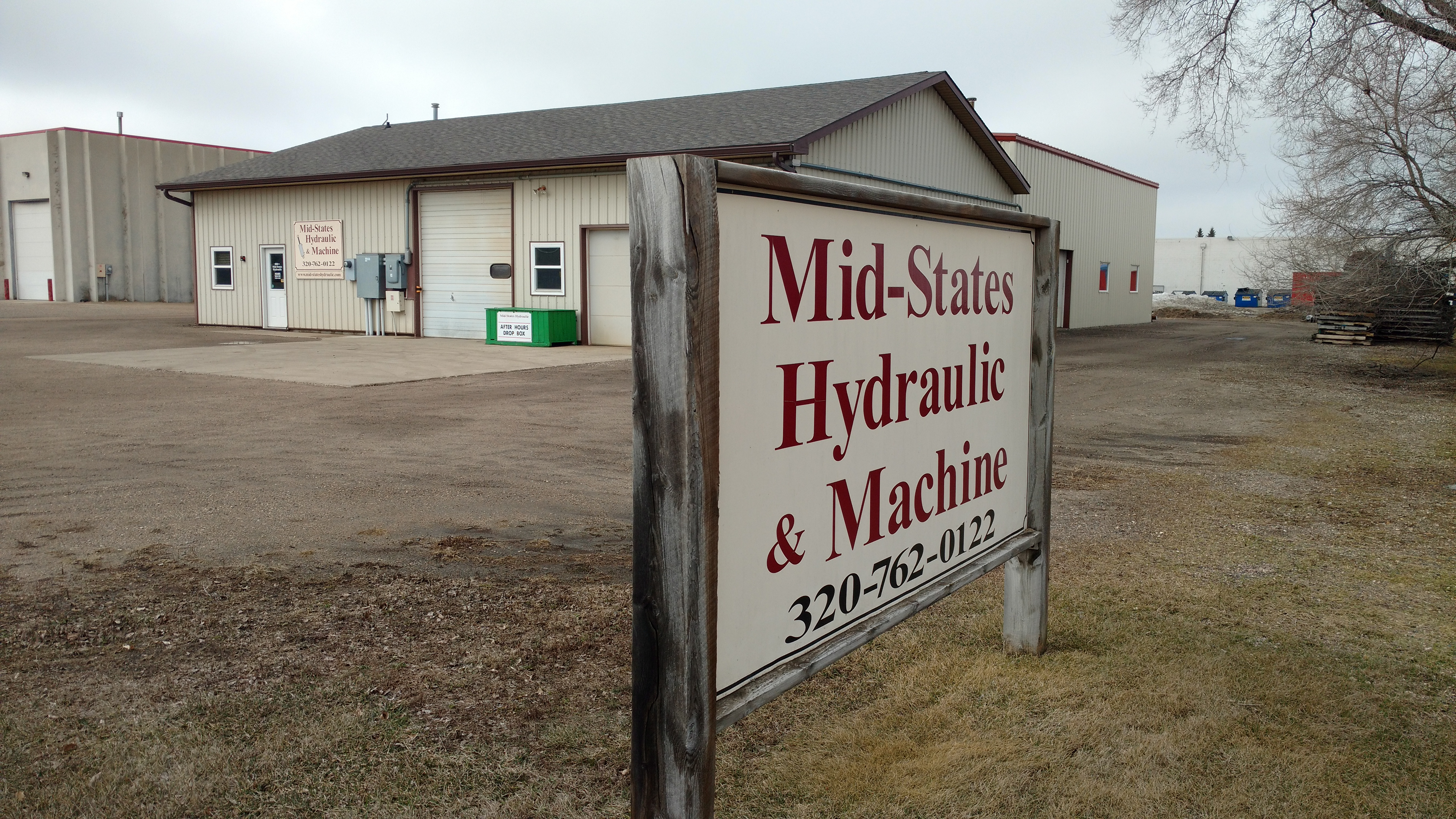 Mid-States Hydraulic - industrial electric project